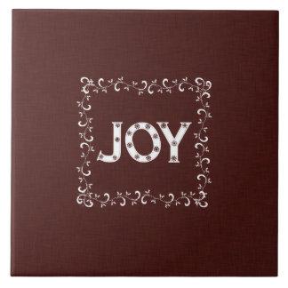 Navidad de la alegría tejas  ceramicas