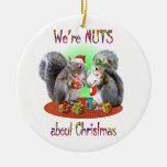 Navidad de la ardilla Nuts Ornamento De Reyes Magos