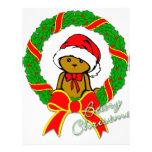 Navidad de la baya membretes personalizados