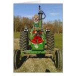 Navidad de la bendición de la granja tarjeta de felicitación
