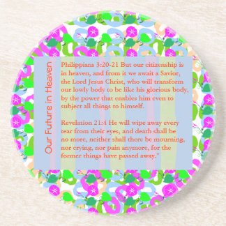 Navidad de la BIBLIA de la CITA de la SABIDURÍA, Posavasos Manualidades