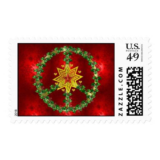 Navidad de la estrella de la paz