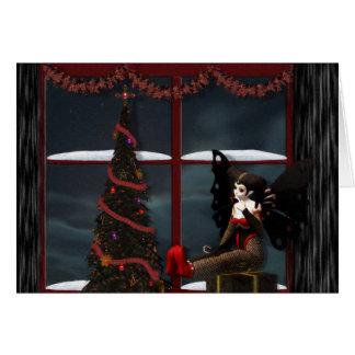 Navidad de la fantasía tarjeta de felicitación