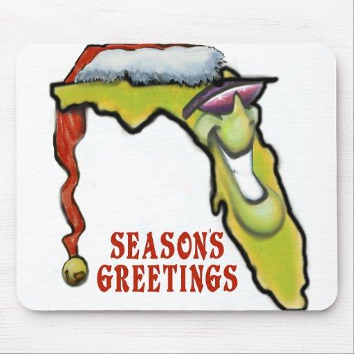Navidad de la Florida Alfombrilla De Ratón