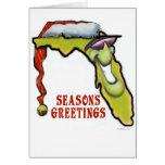 Navidad de la Florida Tarjetón