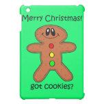 navidad de la galleta del hombre de pan de jengibr