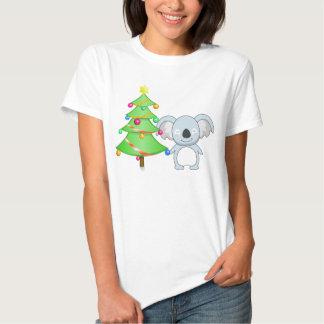 Navidad de la koala poleras