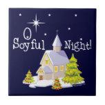 Navidad de la noche de O Soyful Azulejo Ceramica