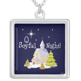 Navidad de la noche de O Soyful Colgante Cuadrado