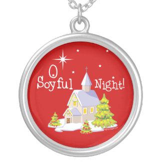 Navidad de la noche de O Soyful Colgante Redondo
