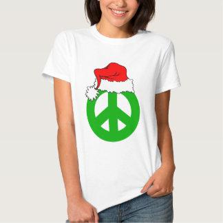 Navidad de la paz playeras