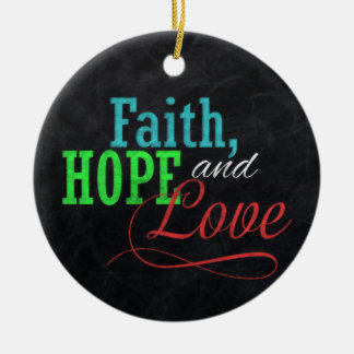 Navidad de la pizarra de la esperanza y del amor adorno para reyes