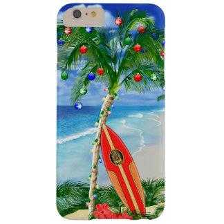 Navidad de la playa funda de iPhone 6 plus barely there