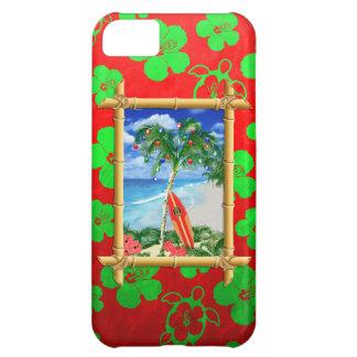 Navidad de la playa funda para iPhone 5C