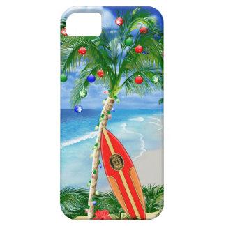 Navidad de la playa iPhone 5 Case-Mate carcasa