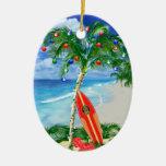 Navidad de la playa ornato