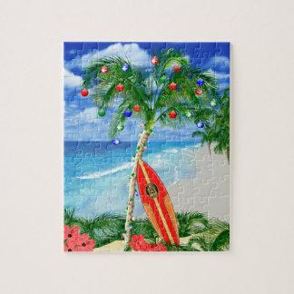 Navidad de la playa puzzles