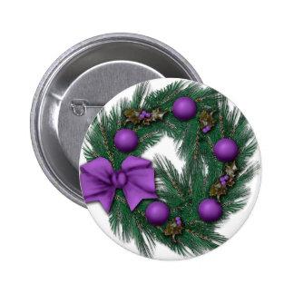Navidad de la púrpura de Passionatly Pin