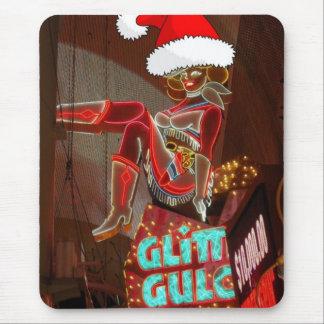 Navidad de la quebrada del brillo de Las Vegas Tapete De Raton