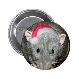Navidad de la rata de Santa Dumbo Pin