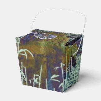 Navidad de la reflexión de la libertad cajas para regalos