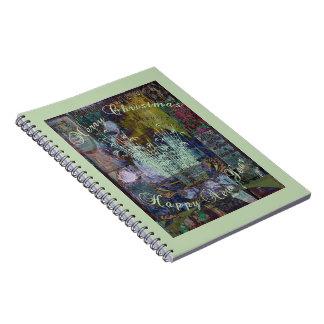 Navidad de la reflexión de la libertad notebook