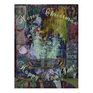 Navidad de la reflexión de la libertad tarjetas postales