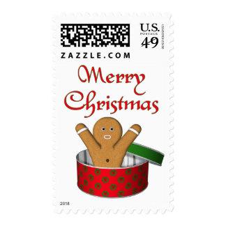 Navidad de la sorpresa del pan de jengibre del KRW