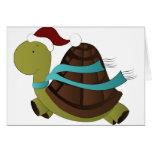 navidad de la tortuga felicitación