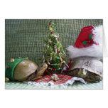 Navidad de la tortuga tarjeta de felicitación