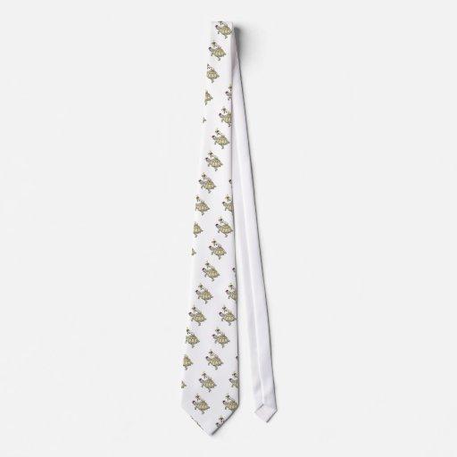 Navidad de la tortuga y del caracol corbata