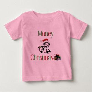 Navidad de la vaca de Mooey Tee Shirt