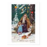 Navidad de las felices Navidad de un padre del Postal