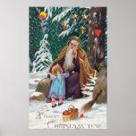 Navidad de las felices Navidad de un padre del tie Poster
