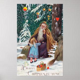 Navidad de las felices Navidad de un padre del tie Póster