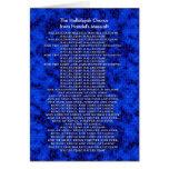 Navidad de las Mesías de Handel Tarjeta
