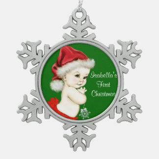 Navidad de las niñas de Santa 1r Adorno