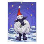 Navidad de las ovejas felicitacion