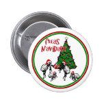 NAVIDAD de las PULGAS - Pulgas y árbol de navidad Pin