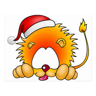 Navidad de Leo Tarjeta Postal