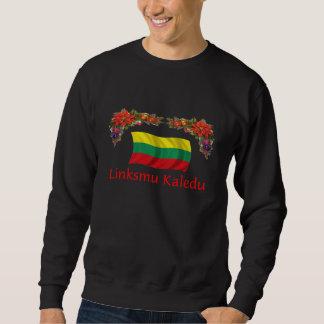 Navidad de Lituania Pulover Sudadera