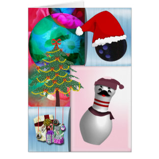 Navidad de los bolos tarjeta de felicitación