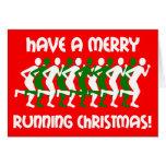 navidad de los corredores tarjeton