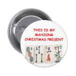 Navidad de MAHJONG Pins