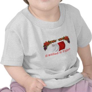 Navidad de Malta Camiseta