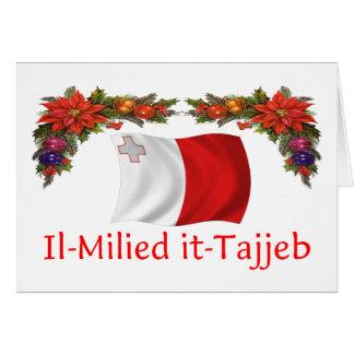 Navidad de Malta Felicitaciones