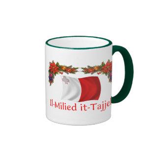 Navidad de Malta Taza