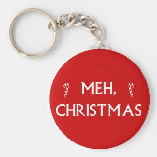 Navidad de Meh Llavero Redondo Tipo Pin