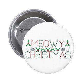 Navidad de Meowy Pin