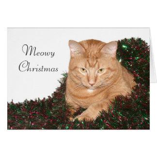 Navidad de Meowy Felicitacion